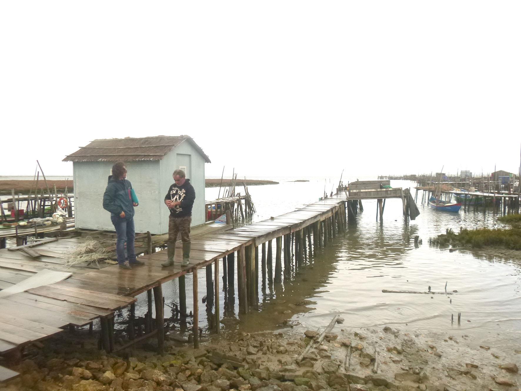 Questionários a pescadores comerciais