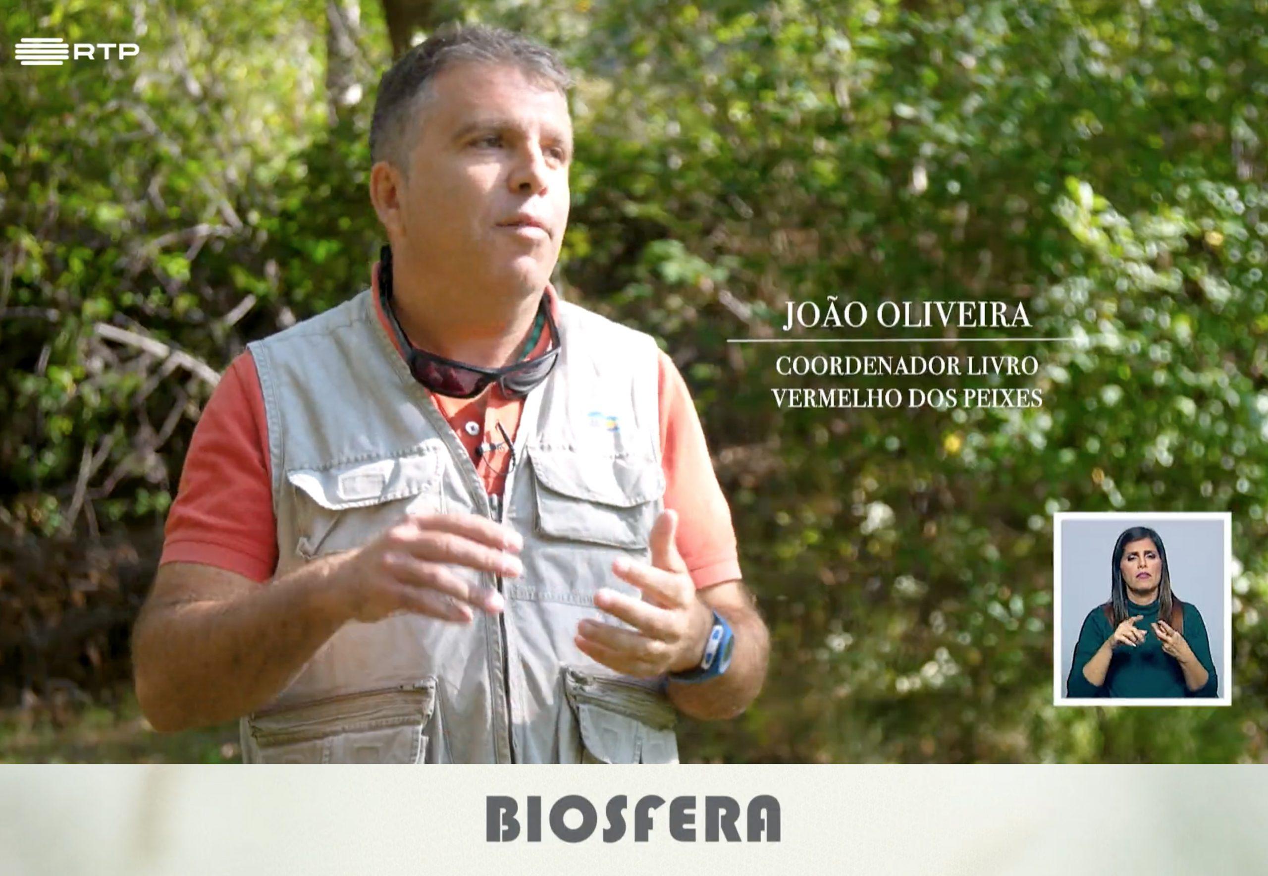 O Livro Vermelho dos Peixes esteve no Biosfera, programa da RTP2